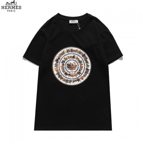 Hermes T-Shirts Short Sleeved For Men #836041 $29.00 USD, Wholesale Replica Hermes T-Shirts