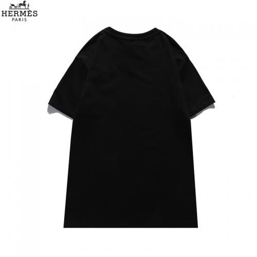 Replica Hermes T-Shirts Short Sleeved For Men #836041 $29.00 USD for Wholesale