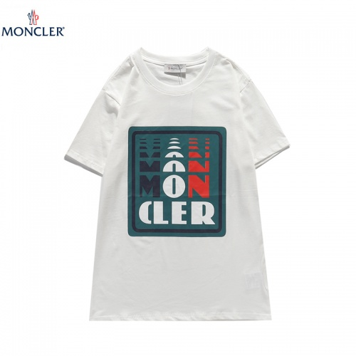 Moncler T-Shirts Short Sleeved For Men #836047