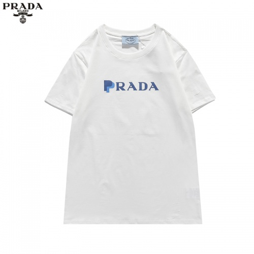 Prada T-Shirts Short Sleeved For Men #836050