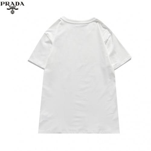 Replica Prada T-Shirts Short Sleeved For Men #836050 $25.00 USD for Wholesale