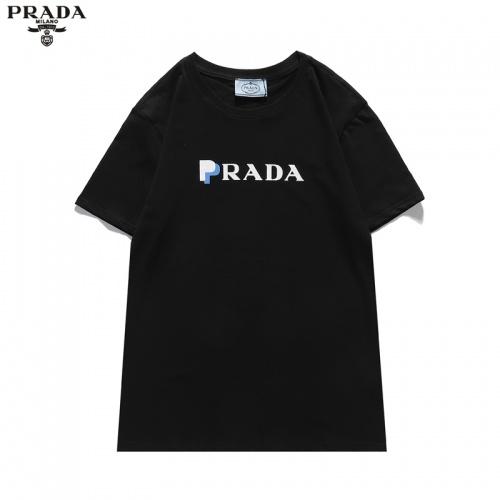 Prada T-Shirts Short Sleeved For Men #836051