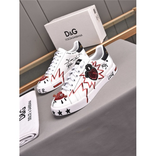 Dolce & Gabbana D&G Casual Shoes For Men #836058