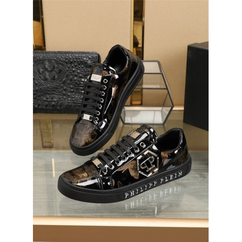 Philipp Plein PP Casual Shoes For Men #836060 $80.00, Wholesale Replica Philipp Plein Shoes