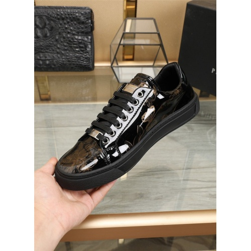 Replica Philipp Plein PP Casual Shoes For Men #836060 $80.00 USD for Wholesale