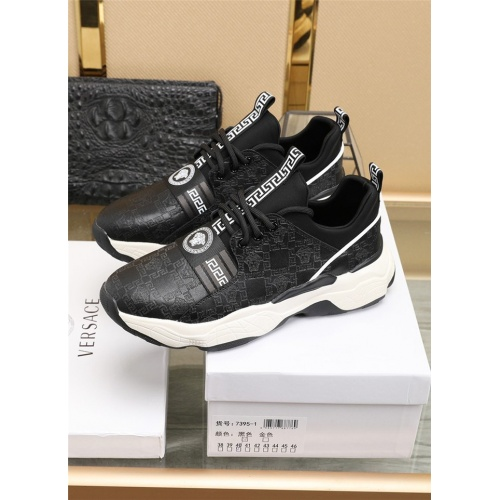 Replica Versace Casual Shoes For Men #836067 $82.00 USD for Wholesale