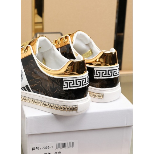 Replica Versace Casual Shoes For Men #836070 $80.00 USD for Wholesale
