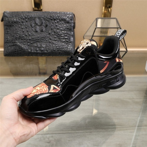 Replica Versace Casual Shoes For Men #836071 $80.00 USD for Wholesale