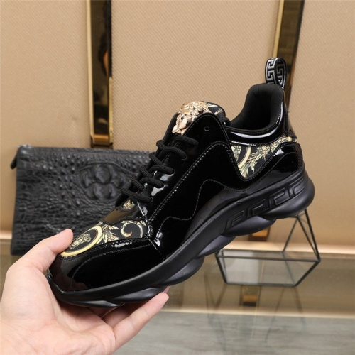 Replica Versace Casual Shoes For Men #836072 $80.00 USD for Wholesale