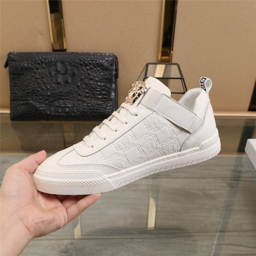 Replica Versace Casual Shoes For Men #836074 $82.00 USD for Wholesale