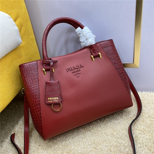 Prada AAA Quality Handbags For Women #836203 $105.00, Wholesale Replica Prada AAA Quality Handbags