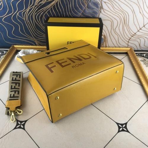 Replica Fendi AAA Quality Handbags For Women #836214 $92.00 USD for Wholesale