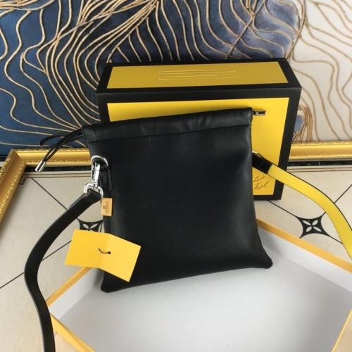 Replica Fendi AAA Messenger Bags For Women #836219 $76.00 USD for Wholesale
