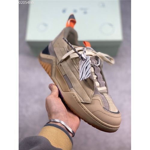 Replica Off-White Casual Shoes For Men #836230 $105.00 USD for Wholesale