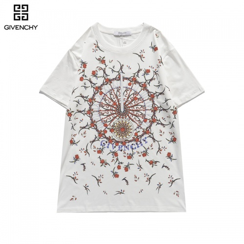 Givenchy T-Shirts Short Sleeved For Men #836271 $29.00 USD, Wholesale Replica Givenchy T-Shirts