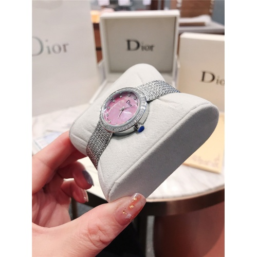 Replica Christian Dior AAA Quality Watches For Women #836310 $96.00 USD for Wholesale