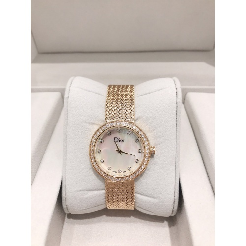 Christian Dior AAA Quality Watches In Gold For Women #836329
