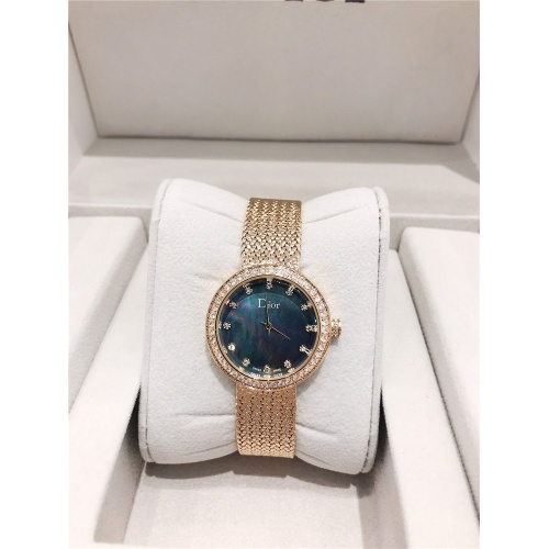 Christian Dior AAA Quality Watches In Gold For Women #836336