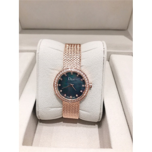 Christian Dior AAA Quality Watches In Rose Gold For Women #836341