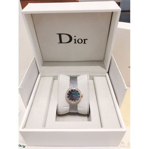Replica Christian Dior AAA Quality Watches For Women #836346 $96.00 USD for Wholesale