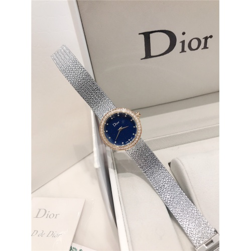 Replica Christian Dior AAA Quality Watches For Women #836347 $96.00 USD for Wholesale