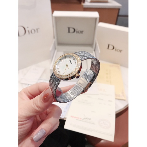 Replica Christian Dior AAA Quality Watches For Women #836348 $96.00 USD for Wholesale