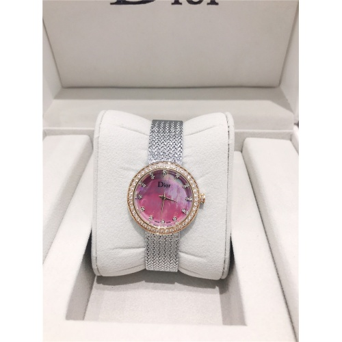 Christian Dior AAA Quality Watches For Women #836349 $96.00, Wholesale Replica Dior Quality Watches