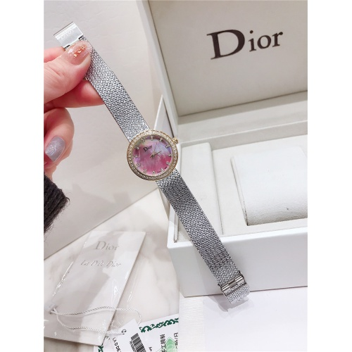 Replica Christian Dior AAA Quality Watches For Women #836349 $96.00 USD for Wholesale
