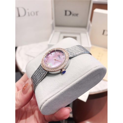 Replica Christian Dior AAA Quality Watches For Women #836360 $96.00 USD for Wholesale