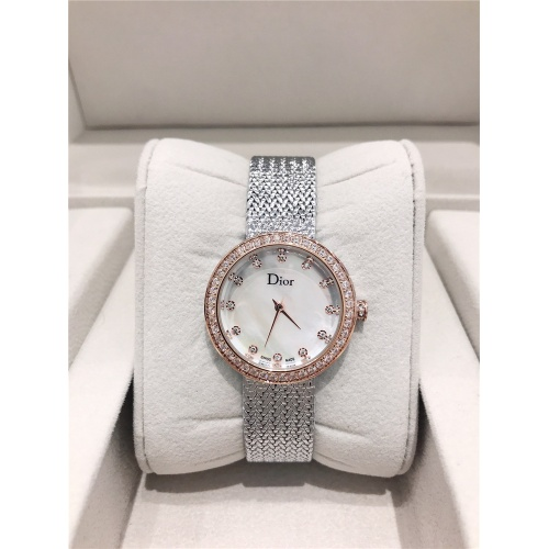 Christian Dior AAA Quality Watches For Women #836361 $96.00, Wholesale Replica Dior Quality Watches