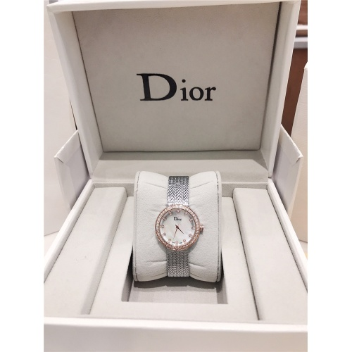 Replica Christian Dior AAA Quality Watches For Women #836361 $96.00 USD for Wholesale