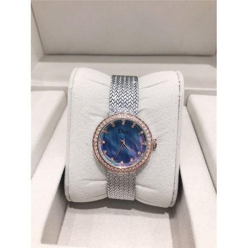 Christian Dior AAA Quality Watches For Women #836363 $96.00, Wholesale Replica Dior Quality Watches