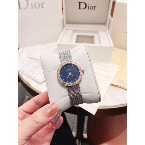 Replica Christian Dior AAA Quality Watches For Women #836364 $96.00 USD for Wholesale