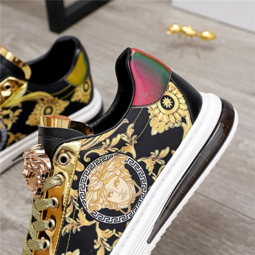 Replica Versace Casual Shoes For Men #836414 $80.00 USD for Wholesale