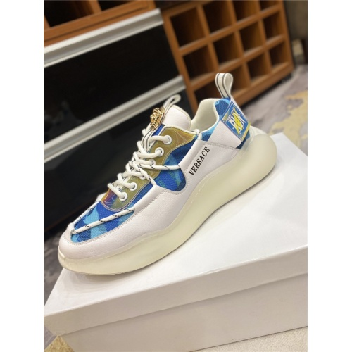Replica Versace Casual Shoes For Men #836420 $85.00 USD for Wholesale