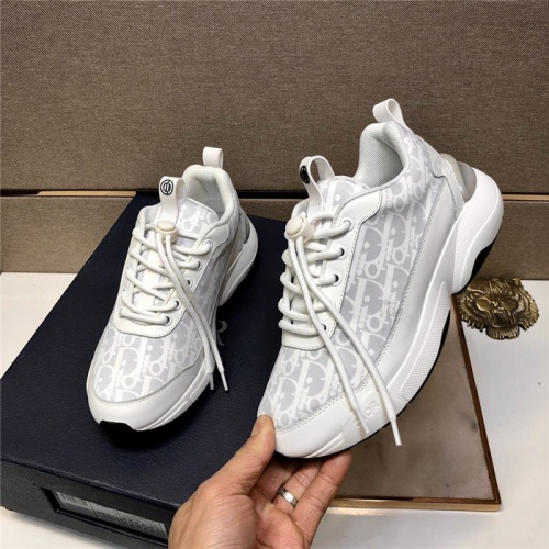 Replica Christian Dior Casual Shoes For Women #836428 $88.00 USD for Wholesale