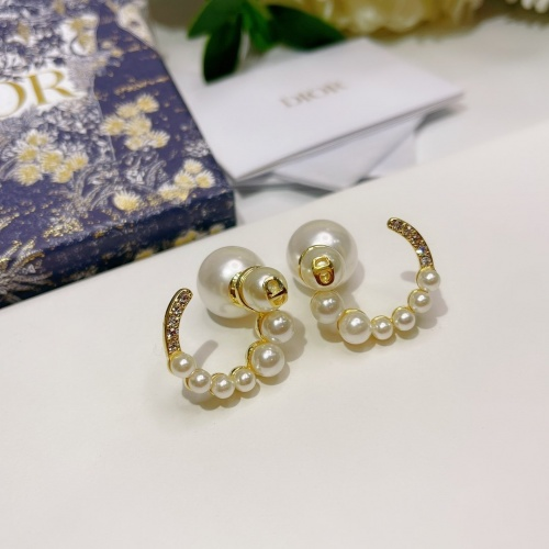 Christian Dior Earrings #836474 $36.00, Wholesale Replica Christian Dior Earrings