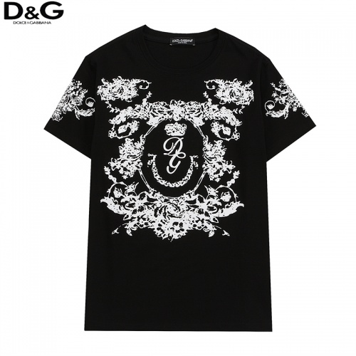 Dolce & Gabbana D&G T-Shirts Short Sleeved For Men #836546