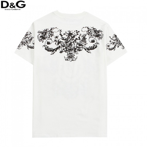 Replica Dolce & Gabbana D&G T-Shirts Short Sleeved For Men #836547 $29.00 USD for Wholesale
