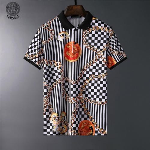 Versace T-Shirts Short Sleeved For Men #836555