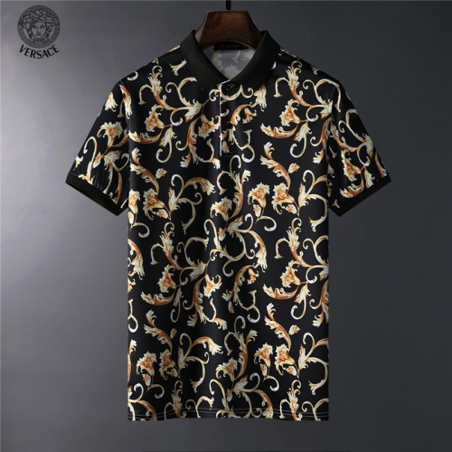Versace T-Shirts Short Sleeved For Men #836570