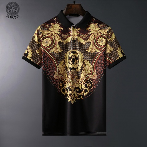 Versace T-Shirts Short Sleeved For Men #836572
