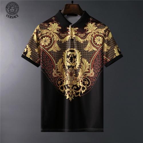 Versace T-Shirts Short Sleeved For Men #836572