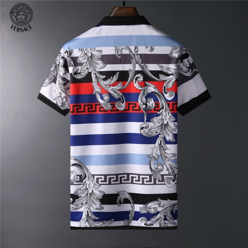 Replica Versace T-Shirts Short Sleeved For Men #836573 $24.00 USD for Wholesale