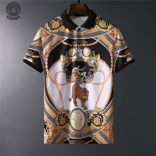 Versace T-Shirts Short Sleeved For Men #836593