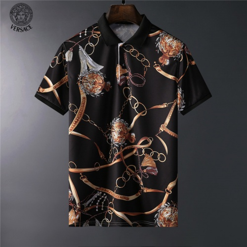 Versace T-Shirts Short Sleeved For Men #836600