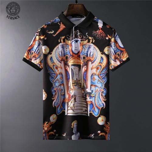 Versace T-Shirts Short Sleeved For Men #836601