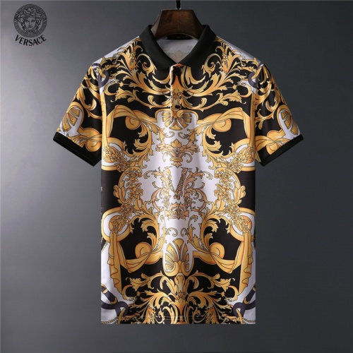 Versace T-Shirts Short Sleeved For Men #836602