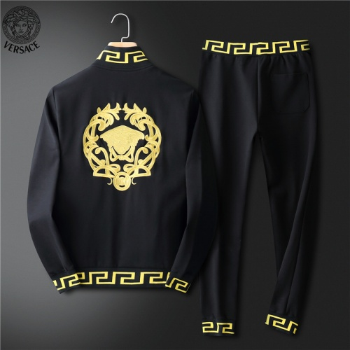 Replica Versace Tracksuits Long Sleeved For Men #836610 $98.00 USD for Wholesale