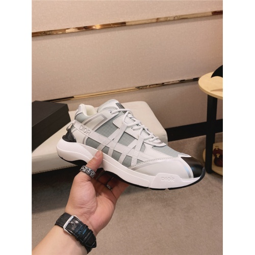 Replica Christian Dior Casual Shoes For Men #836612 $92.00 USD for Wholesale